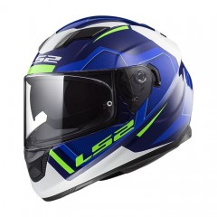 Kask integralny LS2 FF320 Stream Evo Axis Blue/White