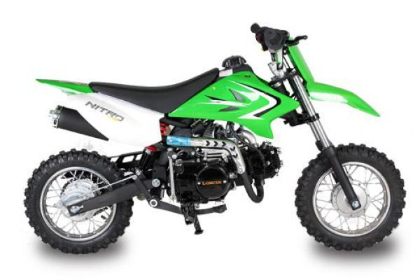 motocykl nitro 125ccm nitro fox mini dirtbike czarny. Black Bedroom Furniture Sets. Home Design Ideas