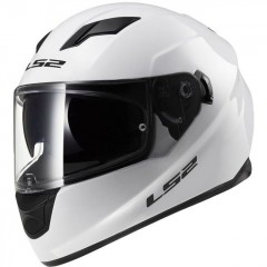 Kask integralny LS2 FF320 Stream Solid White