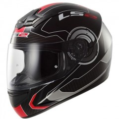 Kask integralny LS2 FF352 Atmos Black Red