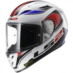 Kask integralny LS2 FF323 Arrow R Geo White/Blue/Red