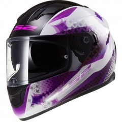 Kask integralny LS2 FF320 Stream Lux White Pink