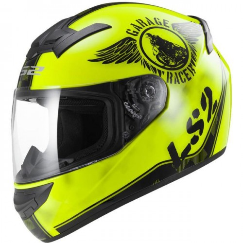 Kask integralny LS2 FF352 Rookie Fan Yellow