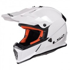 Kask cross/enduro LS2 MX437 Fast Solid White