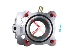 Cylinder 63,00mm 4T 200cc quad ATV 200 IF LC (komplet)