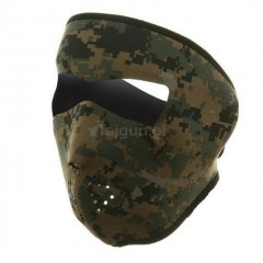 Maska neoprenowa Zanheadgear Digital Green