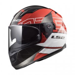 Kask integralny LS2 FF320 Stream Evo Kub Red/Black