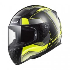 Kask integralny LS2 FF353 Rapid Carrera Black Hi-VIS Yellow