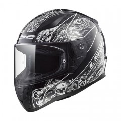 Kask integralny LS2 FF353 Rapid Crypt Black/White