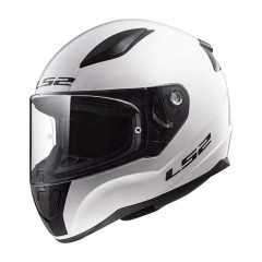 Kask integralny LS2 FF353J Junior Rapid Mini Solid White