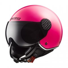 Kask otwarty LS2 OF558 Sphere Lux Gloss Fluo Pink /L/