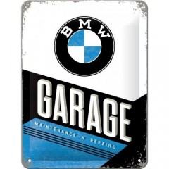 "Tablica metalowa, szyld 15x20cm ""BMW Garage"" 26212"