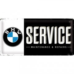 "Tablica metalowa, szyld ""BMW Service"" 27010"