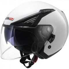 Kask otwarty LS2 OF586 Bishop Solid White