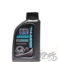 Olej BEL-RAY Thumper Racing Synthetic Ester Blend 4T 15W-50 1L