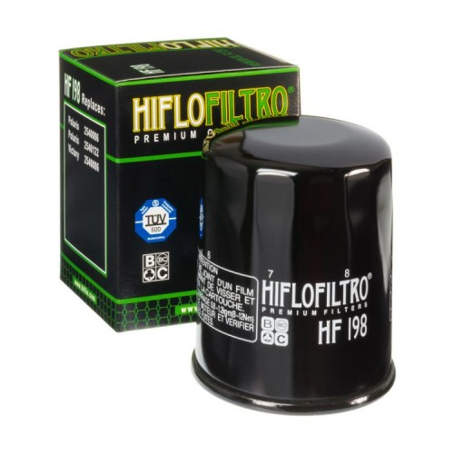 Filtr oleju HifloFiltro HF198 do Polaris RZR 800, RZR 900, RZR 1000, Ranger 700, Ranger 800, Ranger 900, Sportsman 600, Sportsman 700, Sportsman 800 / Victory Boardwalk 1800, Cross Country, Cross Roads, Hammer, Vegas