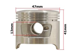 Cylinder 47,00mm 4T 70cc Bad Boy CX50/Street/ATV 70cc (komplet) (made in Taiwan)