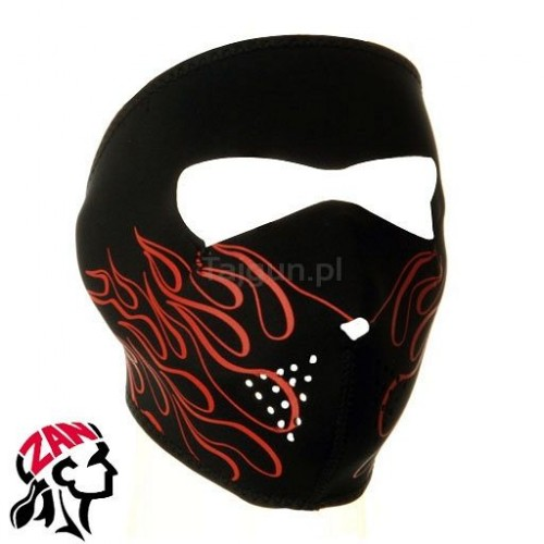 Maska neoprenowa Zanheadgear Orange Flame