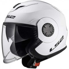 Kask otwarty LS2 OF570 Verso Solid White