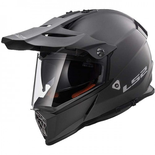 Kask cross/enduro LS2 MX436 Pioneer Solid Matt Titanium